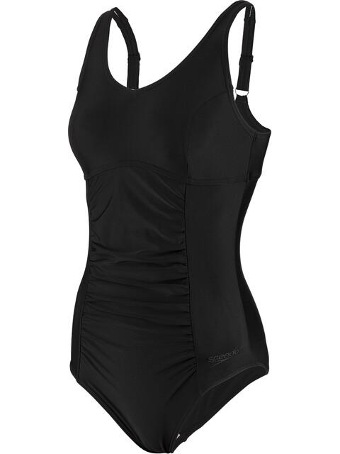 speedo Vivienne Clipback Swimsuit Women, black